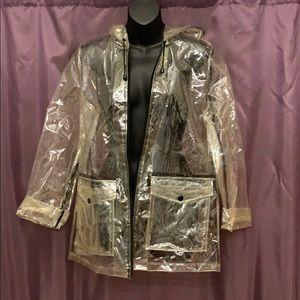Topshop Clear Raincoat